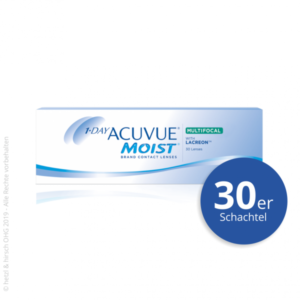 1-Day Acuvue Moist Multifocal 30er Tageslinsen