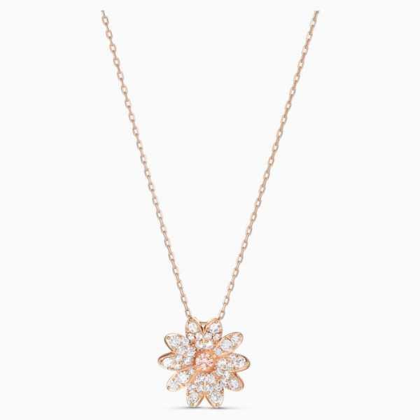 Swarovski - Halskette - Eternal Flower rosa - 5540973