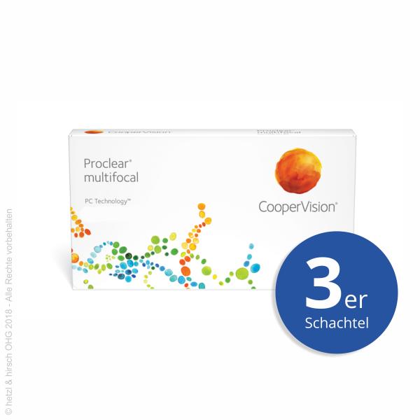 CooperVision Proclear multifocal 3er Monatslinsen