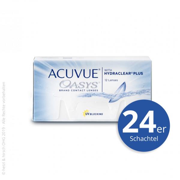 Acuvue Oasys 24er Zwei-Wochenlinsen