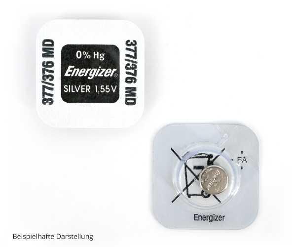 Energizer® - Silberoxyd 1,55V Knopfzellen Batterien
