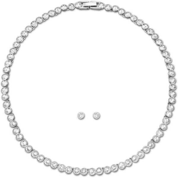 Swarovski - Tennis Halskette Set 5007747