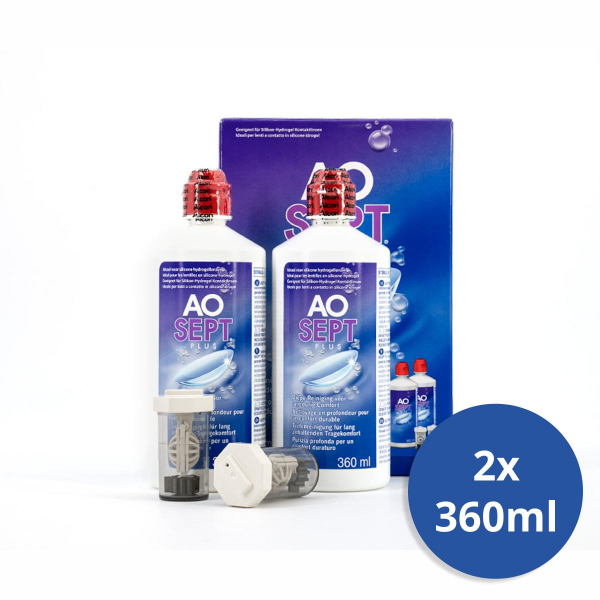 Alcon AOSEPT plus 2x 360ml Peroxidlösung